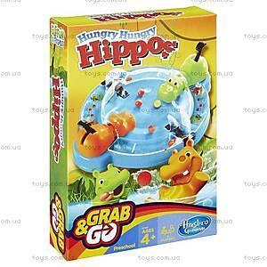 Дорожная игра для детей «Голодные бегемотики», B1001
