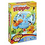 Дорожная игра для детей «Голодные бегемотики», B1001, фото