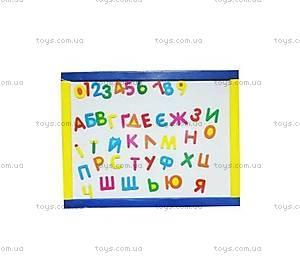 Магнитная доска «Алфавит и цифры», 300х400 мм, 78102