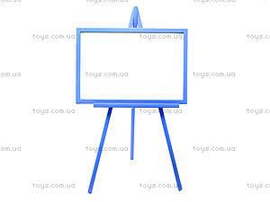 Детская доска для рисования, двухсторонняя, СК01, купить
