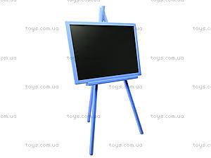 Детская доска для рисования, двухсторонняя, СК01, цена