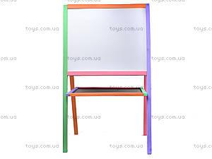 Доска двухсторонняя для рисования, 110*65*55, ВК11, фото