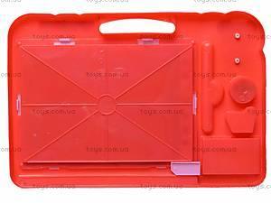 Магнитная доска для рисования со штампами, 298-16, купить