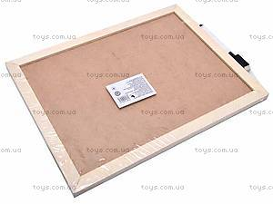 Доска деревянная для рисования, 2594-27, фото