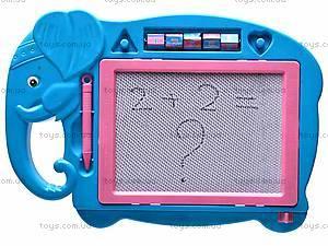 Доска детская для рисования «Слоник», 822-14