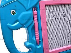 Доска детская для рисования «Слоник», 822-14, отзывы