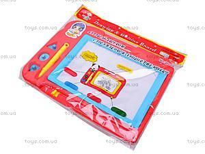 Доска для рисования, магнитная, 2002AB, игрушки