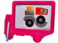 Доска для рисования «Машина» с карандашом, 2619, купить