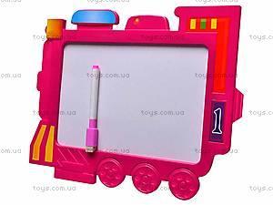 Доска для рисования «Поезд», с карандашом, 2620