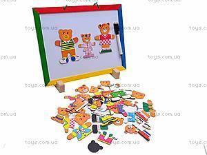 Доска для рисования с мишками, W02-4012