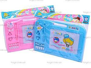 Доска для рисования со счетами, 902A, детские игрушки