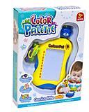 Доска для рисования «Color Palette» жёлтая, FC3616, toys.com.ua