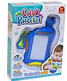 Доска для рисования «Color Palette» синяя, FC3616, магазин игрушек