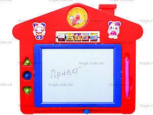 Доска для рисования «Домик», со счетами, HS210, фото