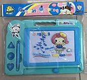 Доска для рисования магнитная 3 штампа (C1403), C1403, детские игрушки