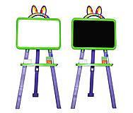 Доска для рисования магнитная, салатово-фиолетовая, 0137776, купити