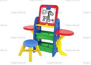 Доска для рисования на стойке со стулом, CP0020801015