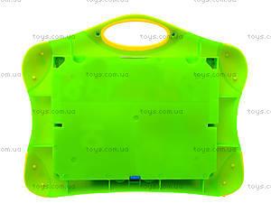 Доска магнитно-рисовальная с буквами и цифрами, 0739, toys.com.ua