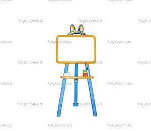 Доска-мольберт магнитный, желто-синий, 0137771