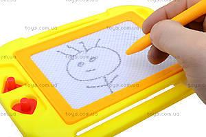 Детская доска для рисования с карандашом, HS8006, фото