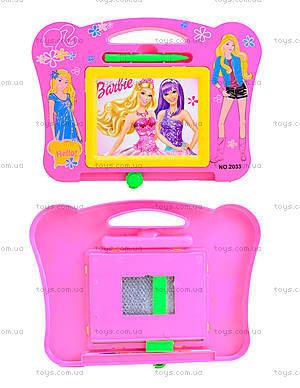Детская доска для рисования Barbie, 2033