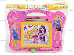 Детская доска для рисования Barbie, 2033, отзывы