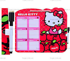Доска с расписанием занятий и маркер Hello Kitty,