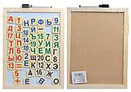Доска деревянная магнитно - рисовальная, W02-5176, фото