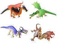 Резиновая игрушка «Дракон», EB312025, отзывы
