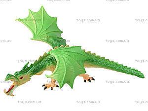 Резиновая игрушка «Дракон», EB312025, игрушки