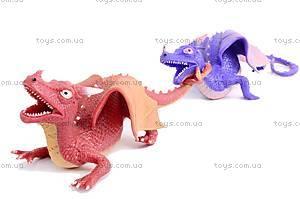 Резиновая игрушка дракон-тянучка, A038P, детский