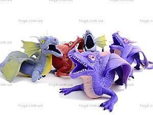 Резиновая игрушка дракон-тянучка, A038P, доставка