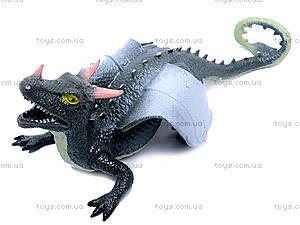 Резиновая игрушка дракон-тянучка, A038P, фото