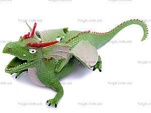 Резиновая игрушка дракон-тянучка, A038P, цена