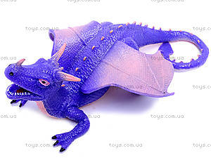 Резиновая игрушка дракон-тянучка, A038P, игрушки