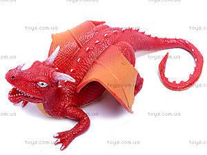Резиновая игрушка дракон-тянучка, A038P, детские игрушки