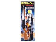 Игрушечный дробовик Berno с аксессуарами и патронами, 920, интернет магазин22 игрушки Украина