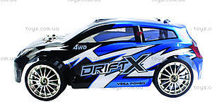 Машинка для дрифта Himoto DriftX, синяя, E18DTb, купить