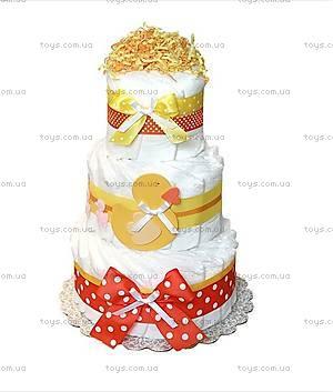 Торт из памперсов Duck, PPC13