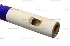 Дудочка деревянная расписная, 168-02-0251, фото