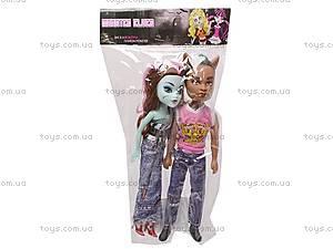 Две куклы типа «Monster High», 907, игрушки