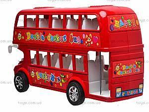 Двухэтажный автобус с инерционным механизмом, 108-19, отзывы