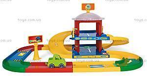 Двухэтажный паркинг «Kid Cars 3D», 53020