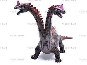 Двухголовый динозавр, D2601, купить