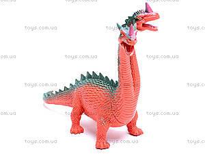 Двухголовый динозавр, D2601, цена