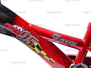 Двухколесный велосипед «Тачки», 131211, фото