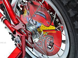 Двухколесный велосипед «Тачки», 131211, детские игрушки