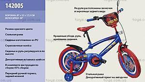 Двухколесный велосипед «Человек-паук», 20 дюймов, 142005