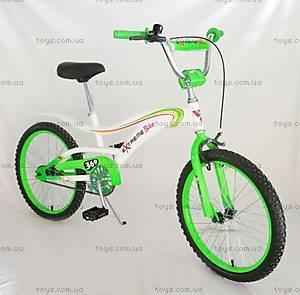 Двухколесный велосипед «Extreme», салатовый, 152020