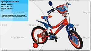 Двухколесный велосипед «Летачки», 141410-P